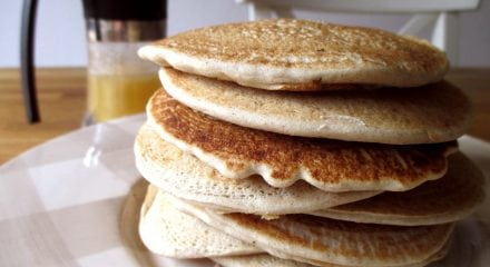Pancake dolci di avena