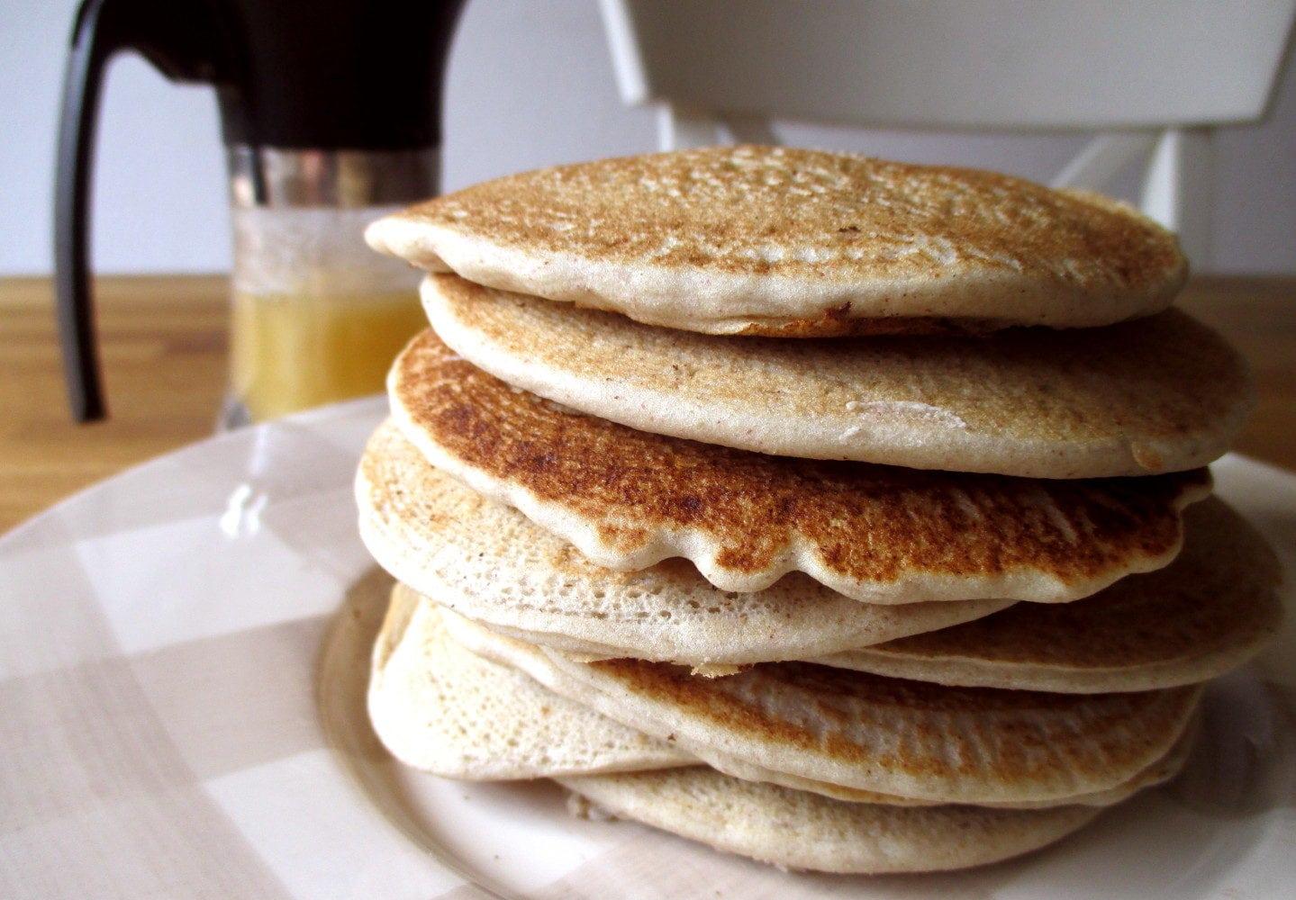 Ricetta Pancake Avena.Pancake Dolci Di Avena Le Farine Magiche