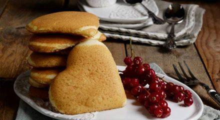 Pancake cuore