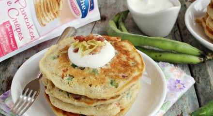 Pancakes alle verdure