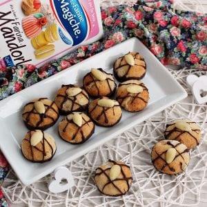 Amaretti alle amarene e cioccolato Farine Magiche