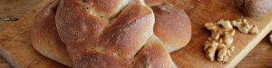 Treccia di pane