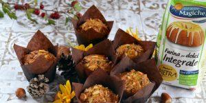 Ricetta Muffin con frutta secca e gocce di cioccolato