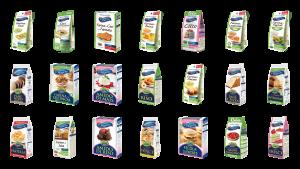 """Linea di prodotti Senza Glutine """"Le Farine Magiche"""""""