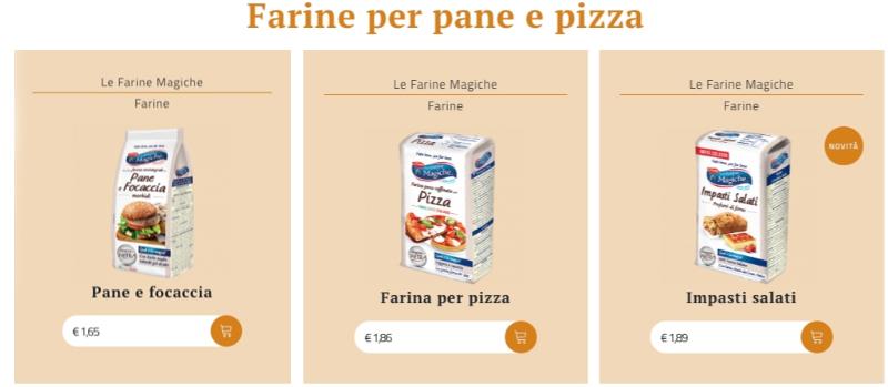 Farine per Pane e Pizza