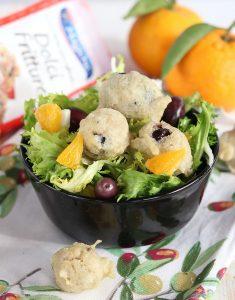 Zeppoline con olive al profumo di agrumi