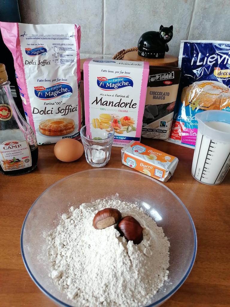 ingredienti ricetta muffin